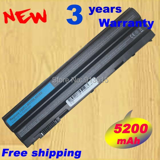 Новый 5200 мАч E5420 E6420 Аккумулятор для ноутбука <font><b>Dell</b></font> Latitude e5420m <font><b>E5430</b></font> E5520 E5520M E5530 Тетрадь батареи