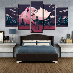 5 Piece Large Poster Home Deco
