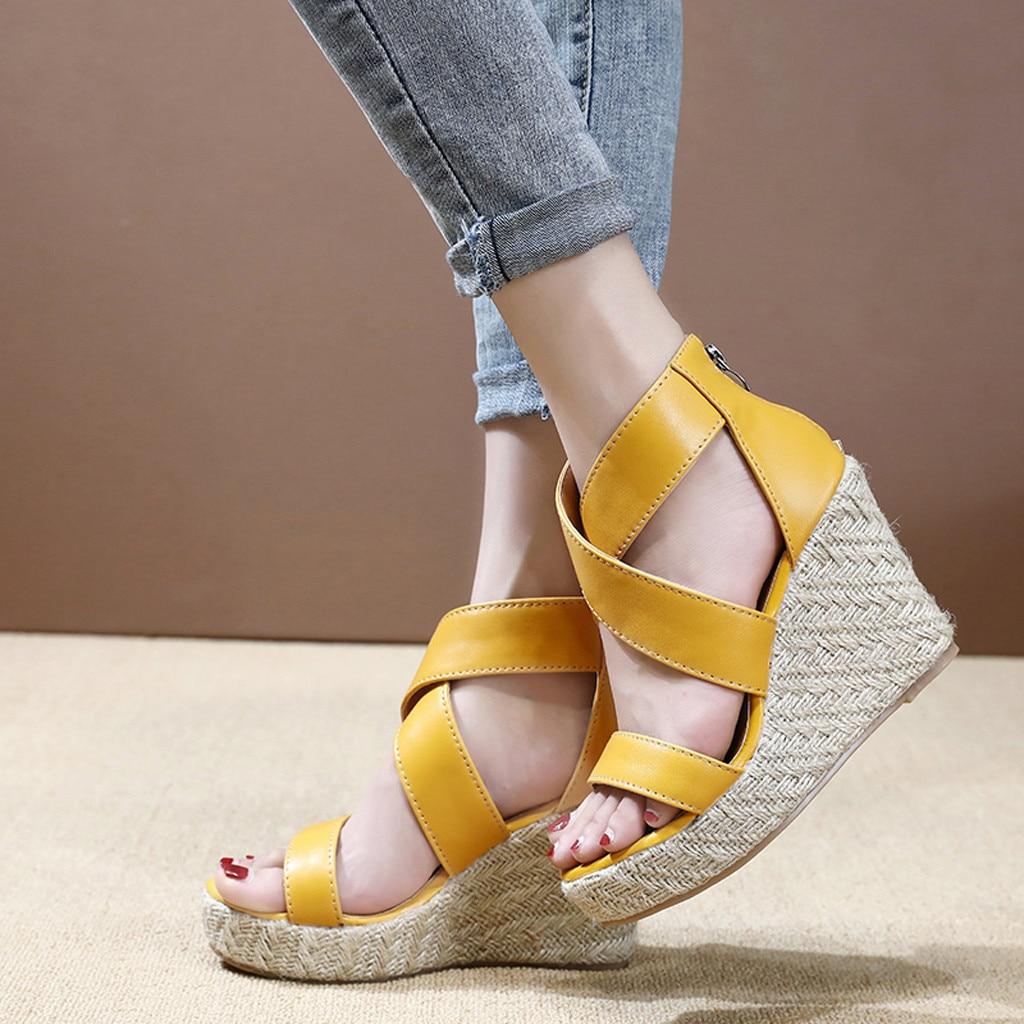 Flat Sandals Slippers Shoes Woman Female Beach Ladies Bling Flop Flip Soft-Bottom Plus-Size
