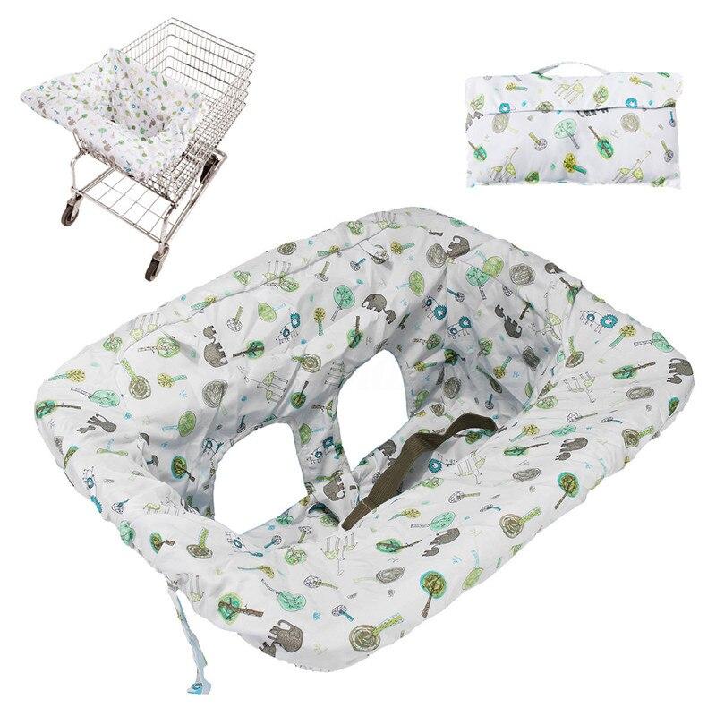 Baby Shopping Cart Cushion Kids Trolley Pad Baby Shopping