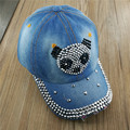 2017 LGFD Fashion cowboy hat, diamond crytal and Rhinestone jean baseball cap Snapback Hats