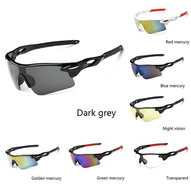 Unisex Rainproof Windproof UV400 Cycling Sunglasses