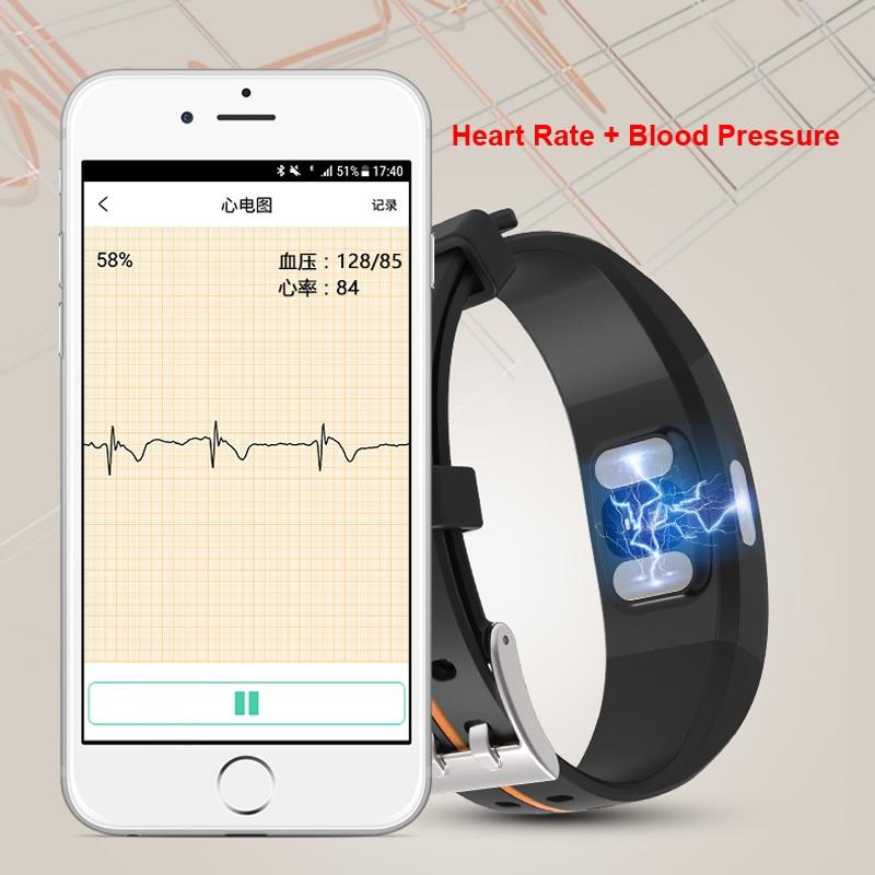 Mampa P3 Plus bracelet intelligent montre étanche android ios bracelet smartwatch whatsapp bracelet intelligent mesure de la pression artérielle - 2