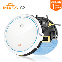 2017 New Robot Vacuum Cleaner for Home wireless Automatic Sweeping Dust Sterilize Gyro navigation Smart Planned Clean IMASS A3(China)