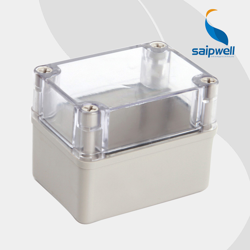 2015 best hot sale ip65 waterproof electrical distribution box with transparent cover 80 110 85mm High