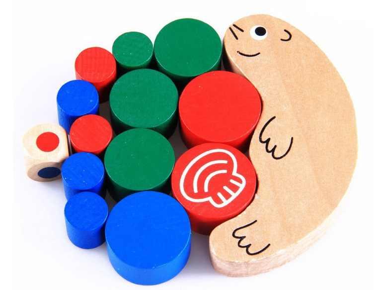 Nieuwe 1 Set Baby Kinderen Speelgoed Dieren Balance Game En Games Speelgoed Voor Kinderen Grappige Bouwsteen Speelgoed