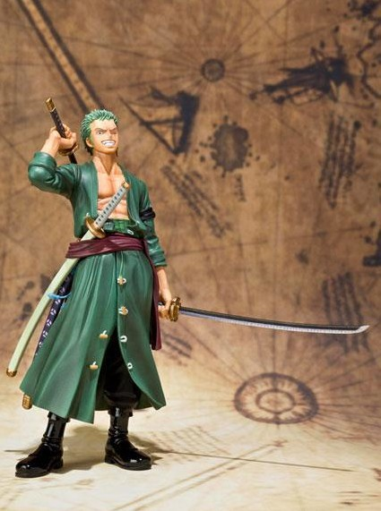 Anime one piece Roronoa Zoro action figure toys 15cm(6.3) PVC doll free shipping, no original Box brand new portrait of pirates one piece roronoa zoro 23cm pvc cool cartoon action figure model toy for gift kids free shipping