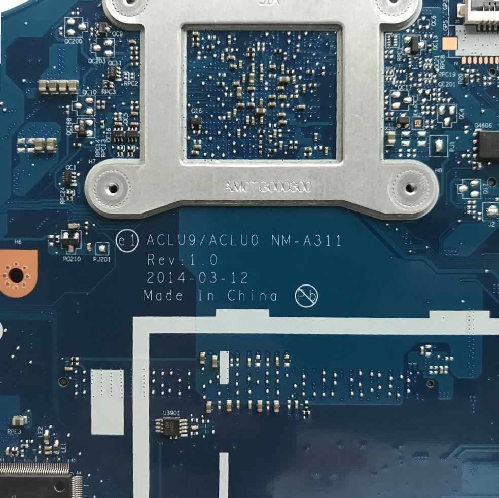 ブランド新 ACLU9/ACLU0 NM-A311 ノートパソコンのマザーボードレノボ G50-30 ノートブック (インテルの CPU) マザーボード 100% テスト作業