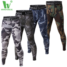 Comperssion фитнес-упражнения jogger бодибилдинг сжатия колготки леггинсы мужские брюки одежда