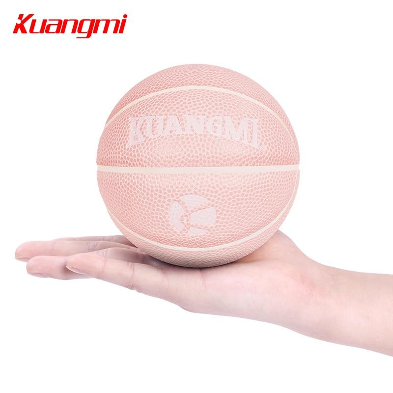 Баскетбольный мини мяч Kuangmi, розовый, 13 см, размер 1|Баскетбольные мячи|   | АлиЭкспресс - Спорт дома