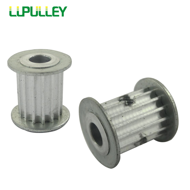 LUPULLEY HTD 3M Timing Pulley 15T Bore 4/5/6/6.35/8mm Fit Belt Width 15mm For CNC Machines Laser Machine Engraving Machine 2PCS