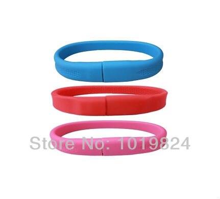 Best qualitystar wrist bracelet USB Flash drive real capacity Memory Pen Drive Stick 2-16GB pendriveping S371usb stick