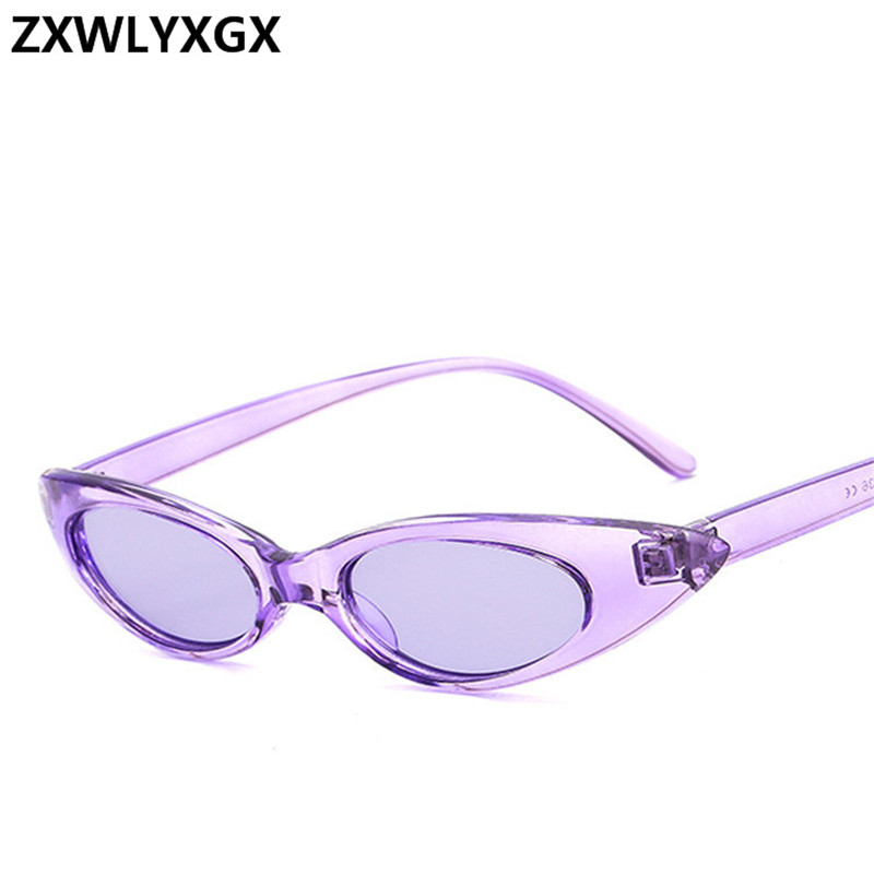 Vintage Sunglasses Women Brand Designer Cute Sexy Cat eye Eyewear Retro Sunglass Female Oculos de sol UV400 Oval Glasses
