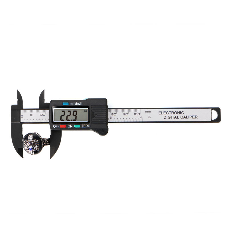 LCD Electronic Digital Vernier Caliper Gauge Measure Stone Bead Gem Jewelry Tool X4