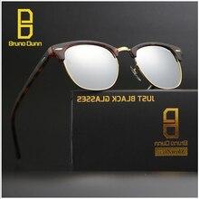 Bruno Dunn 3016 Lente De Cristal Del Club de Las Mujeres gafas de Sol Hombre gafas de sol Femeninas Espelhado Oculos Luneta Femme Gafas de Mujer ray
