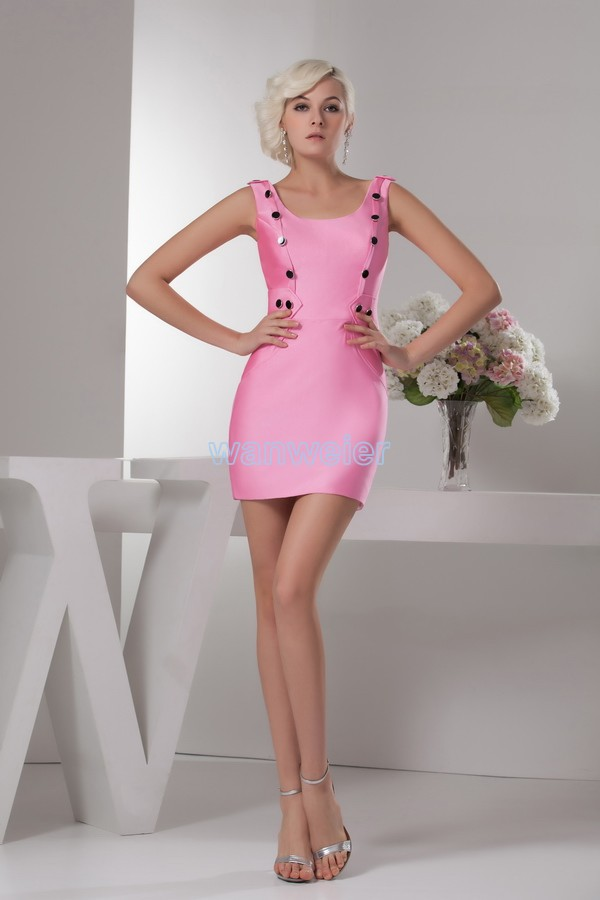 free shipping 2016 new design hot sale good quality real image button mini cheap sweet short sexy custom size/color   Prom     Dress