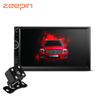 Universal 7inch 2 Din Car Radio Video Stereo MP5 Player GPS Navigation Bluetooth Hand Free With