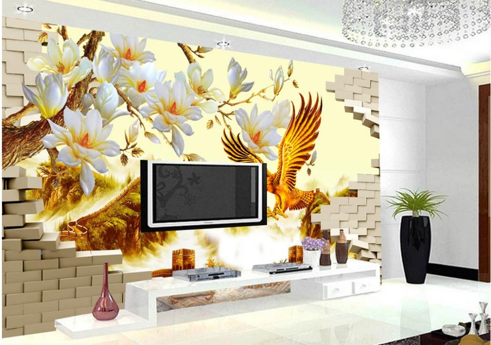 Popular eagle wallpapers buy cheap eagle wallpapers lots for Eagle decorations home