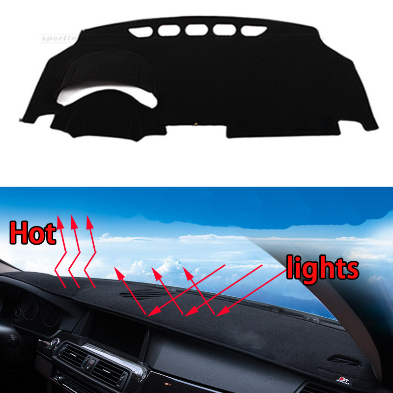 Car dashboard Avoid light pad Instrument platform desk cover Mats Carpets Auto accessories car styling for Great Wall C30 C50 special car trunk mats for toyota all models corolla camry rav4 auris prius yalis avensis 2014 accessories car styling auto