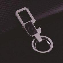 Luxury Key chains With Bottle Opener LED lights Car Key Trinket Metal Key Ring Birthday Gifts Key Holder Chaveiro