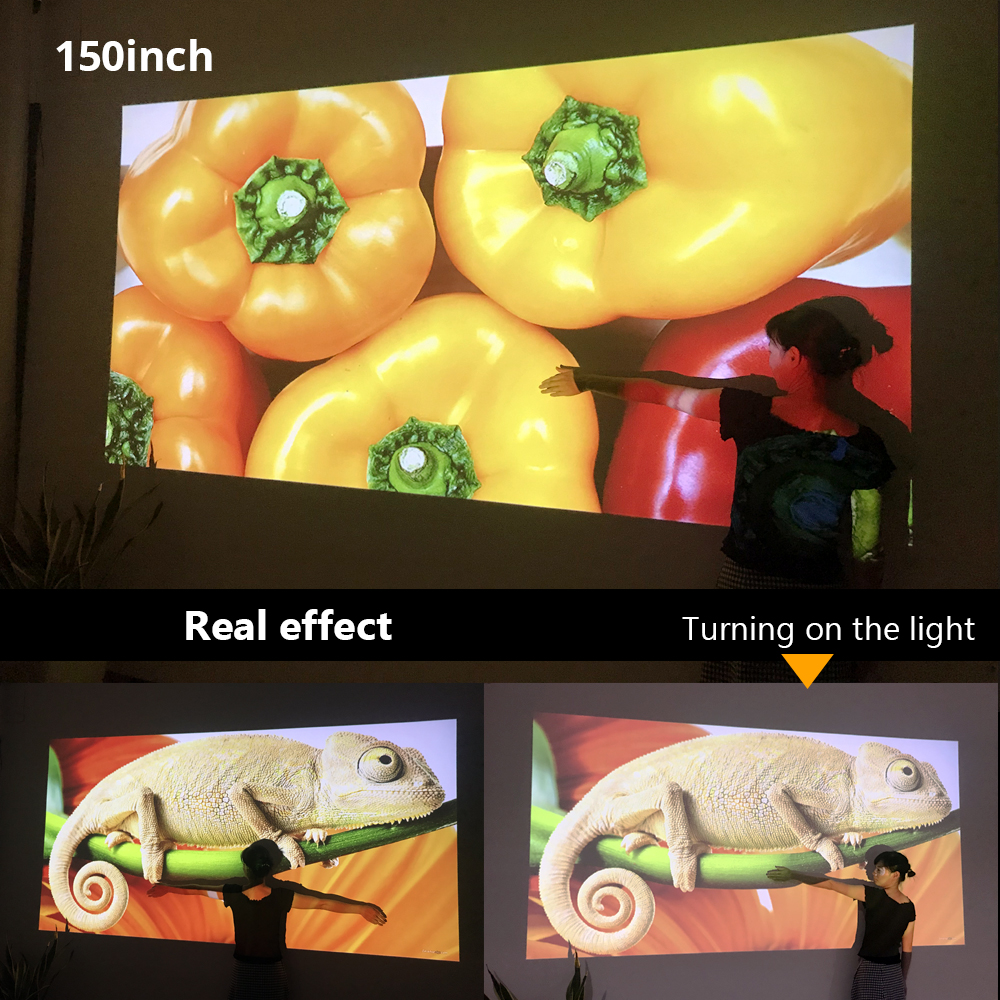 Image 5 - BYINTEK SKY K9 720P 1080P LED Portable Home Theater HD Mini Projector (Option Multi Screen For Iphone Ipad Smart Phone Tablet)-in LCD Projectors from Consumer Electronics