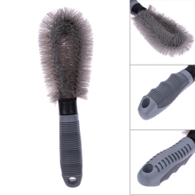 Wheel Brush Gray Color for Car Cleaning