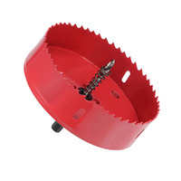 140mm BI Metal Hole Saw for Cornhole Boards Corn Hole Drilling Cutter
