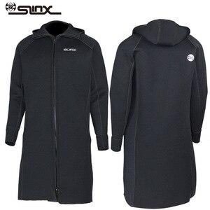 Image 1 - New SLINX 3MM Men Women Neoprene Hooded Windbreaker Wetsuit Diving Suit Keep Warm Swimwear for Snorkeling Fishing Swimming