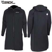 SLINX traje de neopreno con capucha para hombre y mujer traje de buceo para mantener el calor, para pesca buceo, natación, 3MM