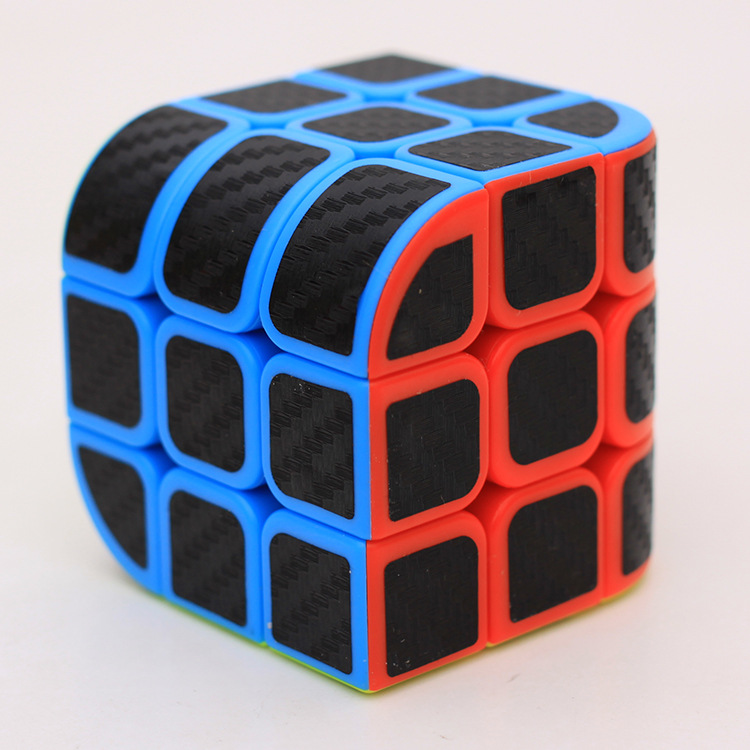 Strange Shape Cube ZCUBE Trihedral Cube Penrose Cube Trihedron Magic Cube Puzzle Toys For Competition Challenge