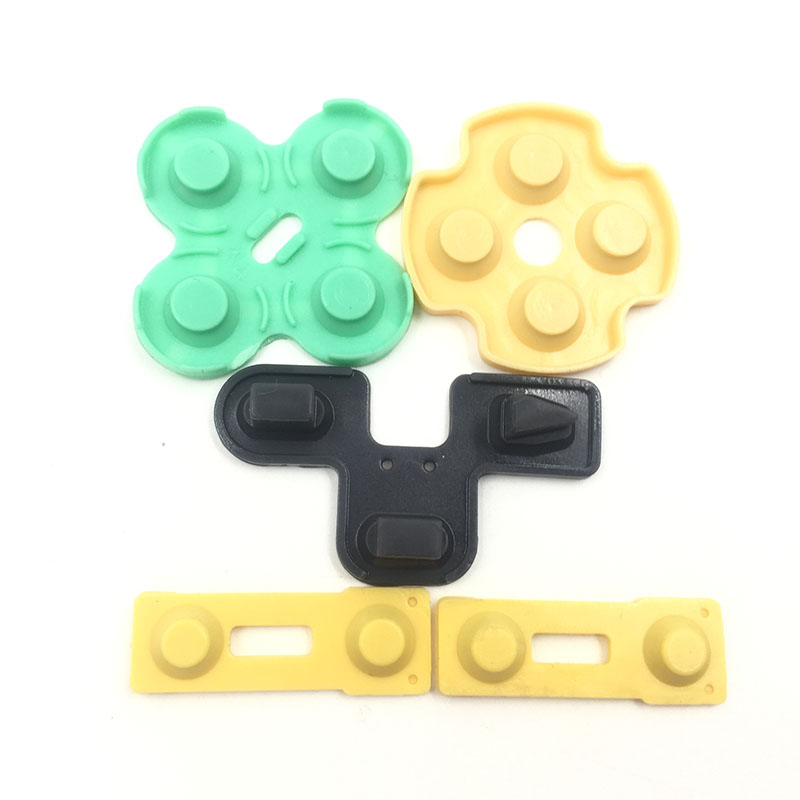 Replacement Silicone Rubber Conductive Pads Buttons Touches For Playstation 2 Controller PS2 Repair Parts