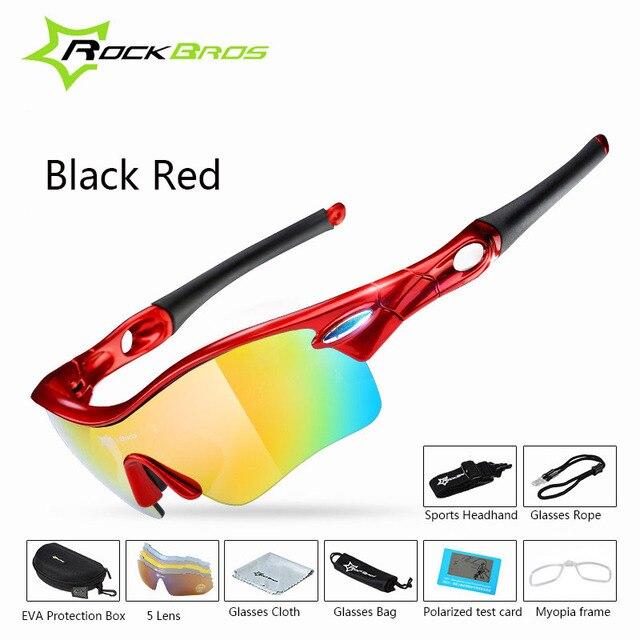 1af58eb92d Rockbros TR90 polarizadas UV400 5 lente ciclismo gafas hombre mujer bicicleta  sol velo lunette cyclisme occhiali