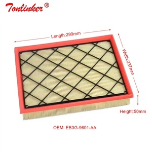 Image 4 - Engine Air Filter Fit For Ford Everest 2.0L 2.2L Model 2015 2016 2017 2018 2019 Year External Car Filter Accessories EB3G 9601 A
