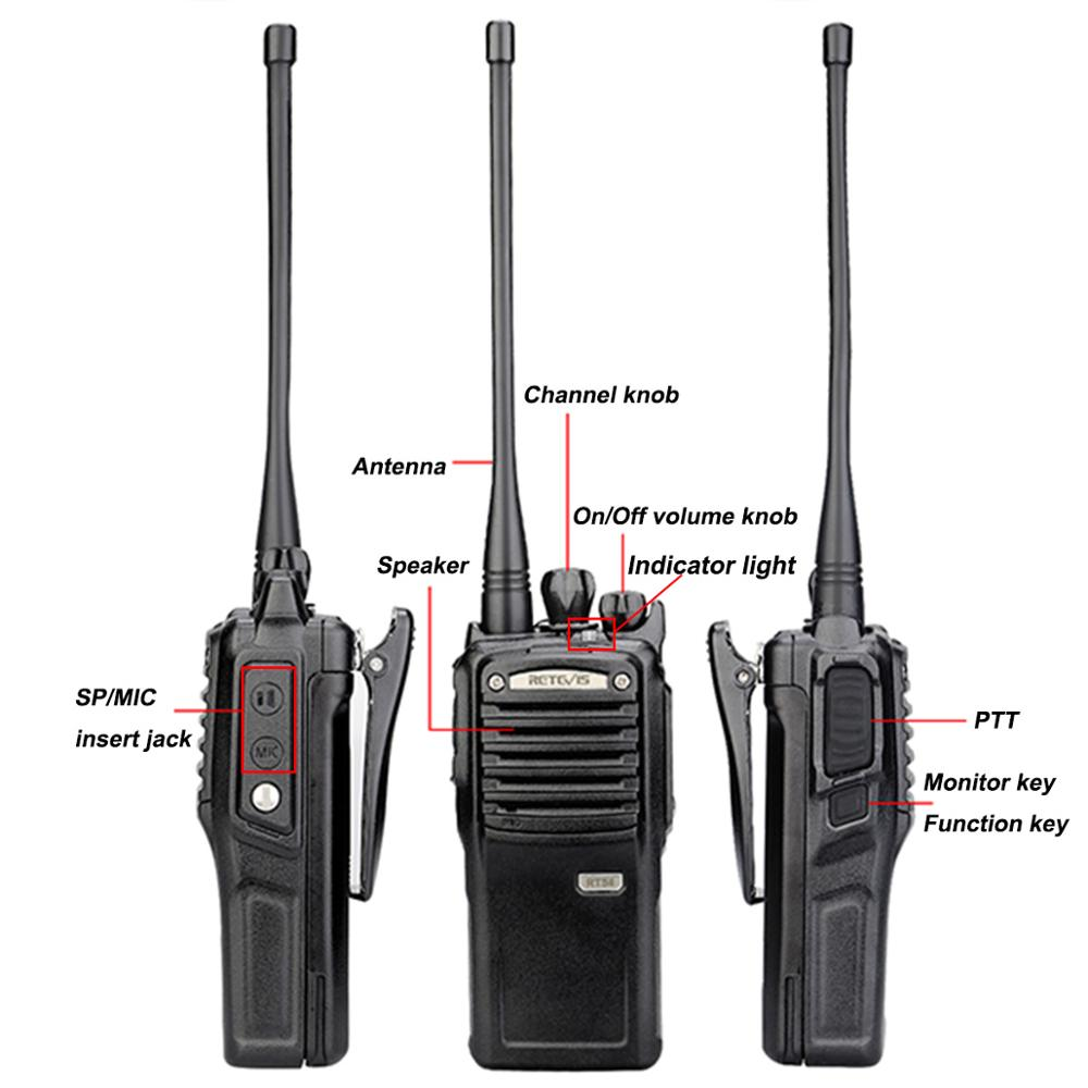 Image 4 - 5W Retevis RT54 DMR Digital/Analog Two Way Radio Portable Transceiver UHF Dustproof Waterproof  VOX TOT Digital Walkie Talkie-in Walkie Talkie from Cellphones & Telecommunications