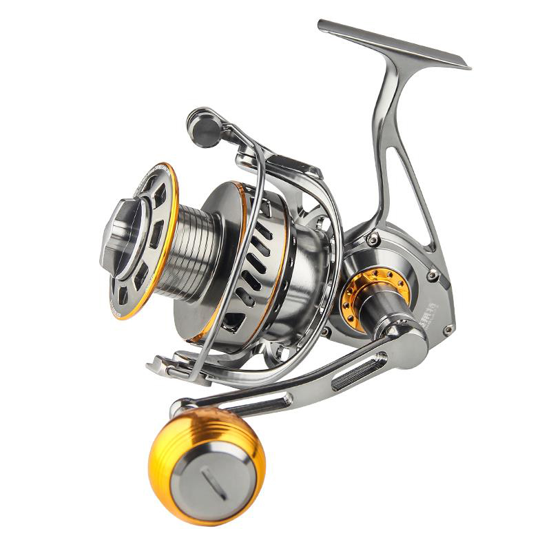 17-30 kg 12BB Full Metal Mare Mulinello Da Pesca Jigging Bobina D'altura Traina Spinning In Acciaio Inox Ballbearings Anti acqua di mare Mulinello