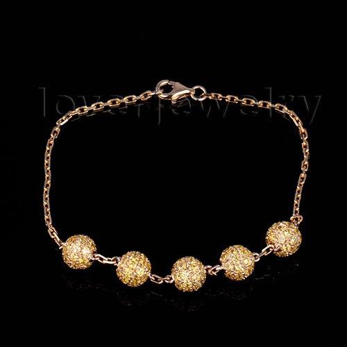 NEW!Vintage Solid 18Kt Yellow Gold Citrine Bracelet Bangle,Citrine Engagement Bracelet For Sale цена