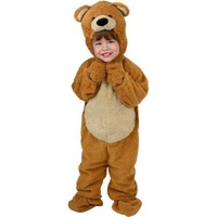Peluche lindo niño miel oso de peluche los más populares y perdurables diseños tema animal Halloween traje edad 4 t