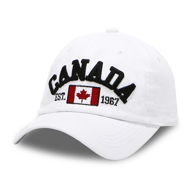 High End Hats Nations Of North America Hat Collection Embroidered Adjule Baseball Cap Canada With