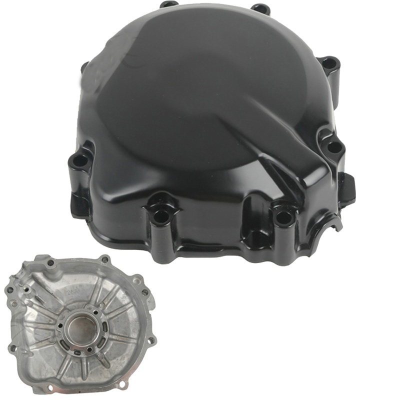 Black Motorcycle Engine Stator Cover Crankcase For Suzuki GSXR600 2000 2001 2002 2003 GSXR 600/750 GSX-R600 GSXR750 01 02 03 front upper fairing cowling headlight headlamp stay bracket for suzuki gsxr600 gsxr750 gsxr 600 750 k1 k2 k3 2000 2001 2002 2003