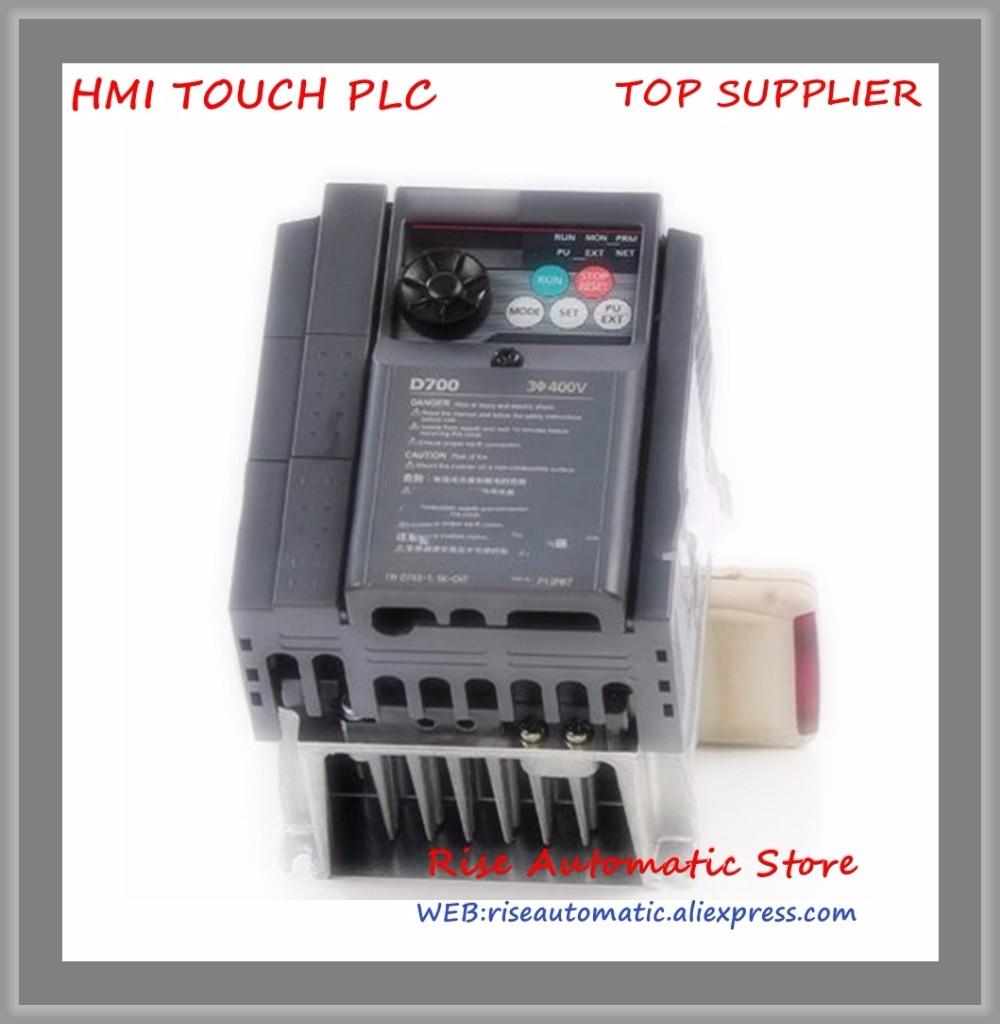 Inverter 3 phase 380V 750W 0.75KW 2.2A new FR-D740-0.75K-CHTInverter 3 phase 380V 750W 0.75KW 2.2A new FR-D740-0.75K-CHT