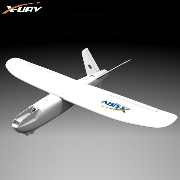 X-6CH EPO uav Mini Garra 1300mm Kit FPV Rc Modelo de Avião Aeronaves Wingspan V-tail