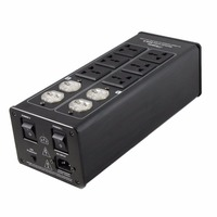 3000W 15A Power Filter Protection Audio AC Socket Purifier Display 100V 240V