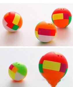 Шарики Huilong Intelligent в собранном виде, шарики для вставки, строительные блоки, 4D кубические шарики, детская игрушка-головоломка