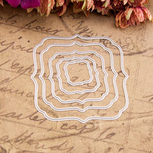 KSCRAFT New Frame Metal Cutting Dies Stencils for DIY Scrapbooking/photo album Decorative Embossing DIY Cards(China)
