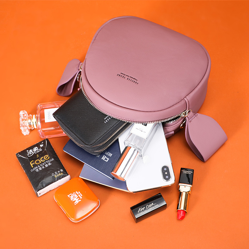Image 5 - NEW Geometrical Circular Women Shoulder Bag Leather Women's Crossbody Messenger Bags Sac Female Round Bolsa Ladies Handbag Girls-in Shoulder Bags from Luggage & Bags