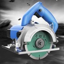 цена на High Power Slotting Cutting Machine Home Stone Woodtile Wall Slot Cutting Multi-function Circular Saw Machine