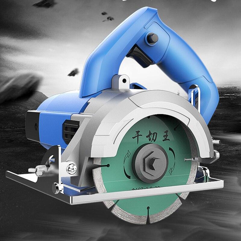 High Power Slotting Cutting Machine Home Stone Woodtile Wall Slot Cutting Multi function Circular Saw Machine