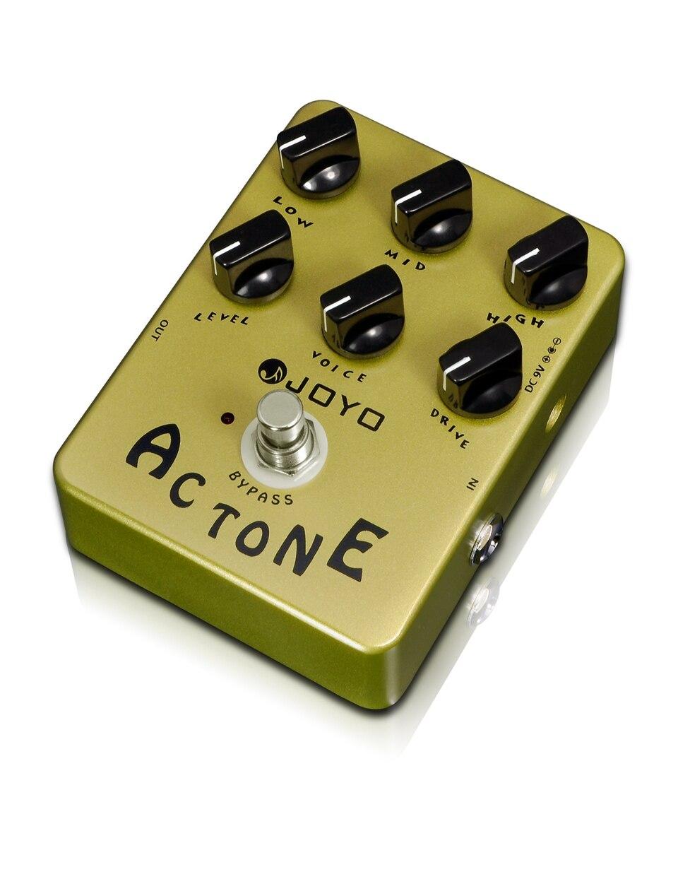 JOYO AC Tone Electric Guitar Effect Pedal Classic British Rock Sound Reproduces The Sound Of A Vox AC30 Amplifier гитарный усилитель vox amplug 2 classic rock