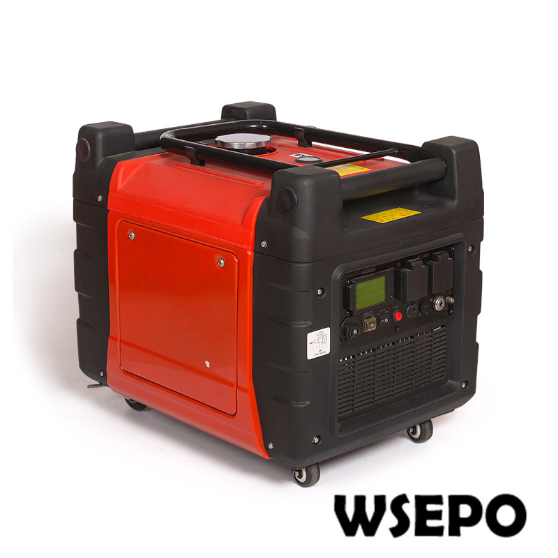 Rated 3000W,Max 3300W Silent Type Inverter Generator 220V 50hz with CEEPA Certificate, Customized Voltage Options Available