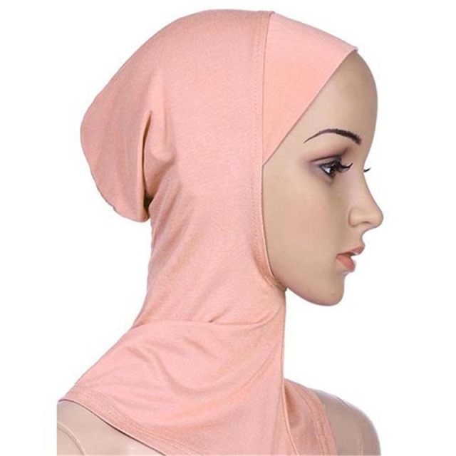 Soft Muslim Full Cover Inner Women's Hijab  4